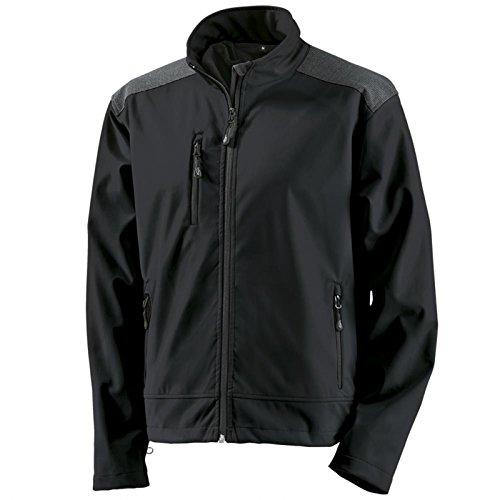 Funktionsjacken Softshelljacken Crossover Softshell-Jacke - Größe XL - schwarz