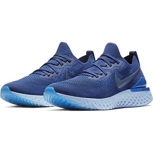Nike Epic React Flyknit 2 Men's Running Shoe Blue Void/Blue Void-Indigo Force-Black 13.0