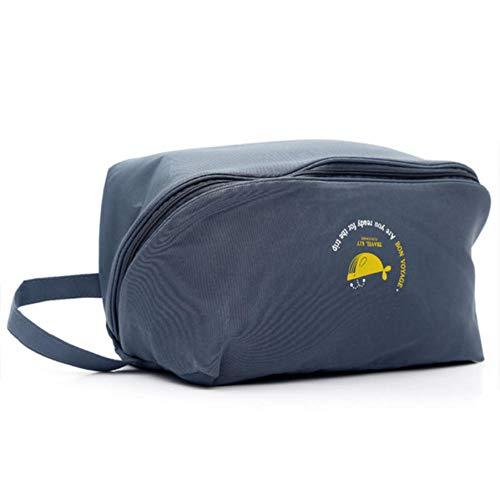 U/A Aufbewahrungsbeutel wasserdichte Reisetasche Für Damen Unterwäsche BH Sortierung Aufbewahrungstasche 28 * 14 * 14Cm Marineblau