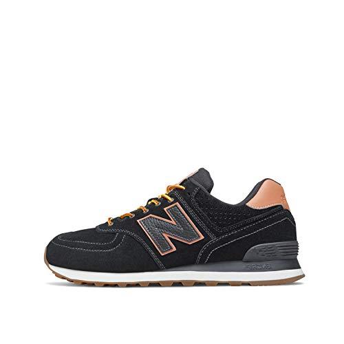 New Balance ML574XAB, Sneaker Uomo, Nero, 40.5 EU