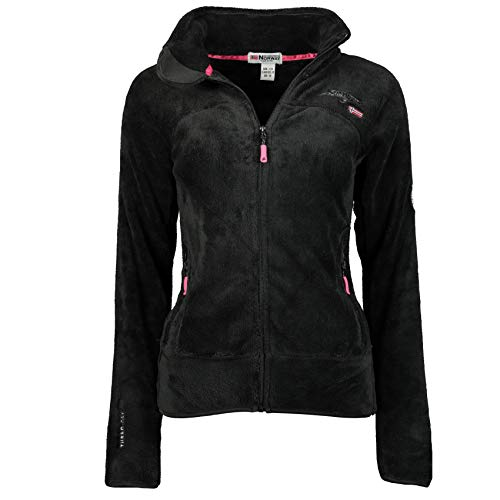 Geographical Norway Upaline Damen-Fleecejacke M Schwarz