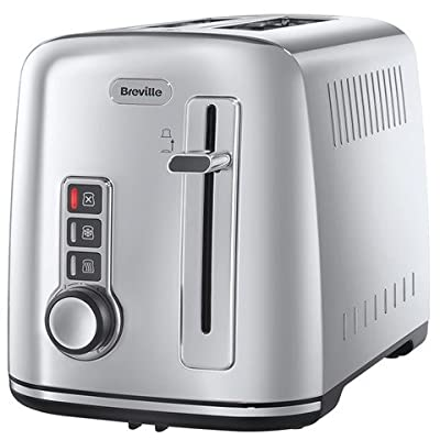 Breville VTT570 Perfect Fit Warburtons 2 Slice Toaster Fits all Warburtons bread perfectly Variable browning control Variable width slots - for thick and thin slices defrost reheat and cancel settings Look and Lift facility - smaller slices can be removed