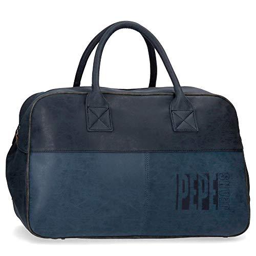 Bolso de viaje 50 cm Pepe Jeans Max azul