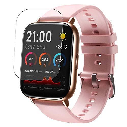 Vaxson 3 Stück Schutzfolie, kompatibel mit SANAG E33 Smart Watch, Displayschutzfolie TPU Folie [nicht Panzerglas]