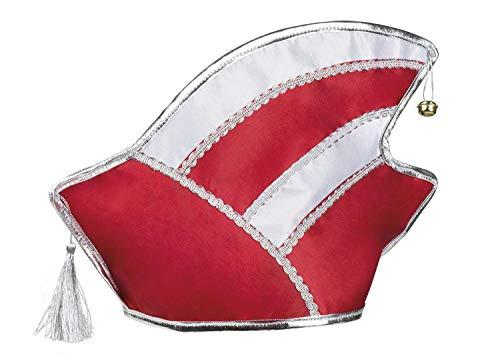 Boland 02002 Komitee Mütze rot/weiß