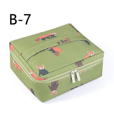Neue Reise Tragbare Kosmetiktasche Nylon Tragbare Multifunktionale Reise Aufbewahrungstasche Make Up Tasche Wasserdicht Waschbeutel Make-Up Beutel B7