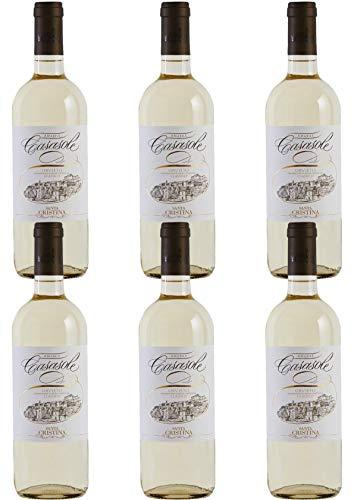 Vino Bianco Amabile dell' Umbria - 6 x 0,750 l. - CASASOLE ORVIETO CLASSICO DOC AMABILE - Santa cristina- Tenute Marchesi Antinori