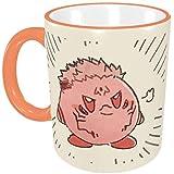 呪術廻戦 五条悟&星のカービィ【電子レンジ対応&330cc】マグカップ 陶器 耐高温 軽量 かわいい おもしろい おしゃれ アニメ キャラクター 贈り物 子ども 男女兼用