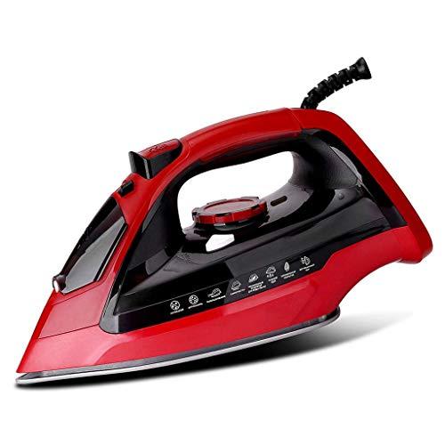 Elektrische strijkijzers Steam Steam Generator Iron Met Non Stick Ceramic Soleplate Handheld Garment Steamer 1800W 350ml hardnekkige kreuken te verwijderen, Red1800W 350ml stoomstrijkijzers beste koop