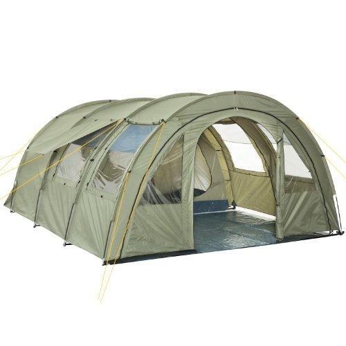 CampFeuer CampFeuer mit 2 Schlafkabinen, olivgrün Bild