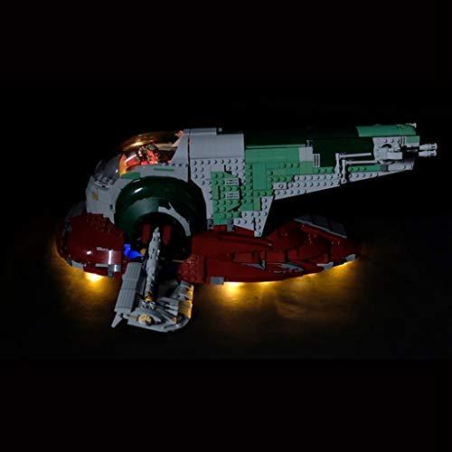 Beleuchtung Kit Kompatibel Mit Lego 75060, LED-Licht Für Star Wars UCS Slave No.1 Building Blocks (Nur Light Set)