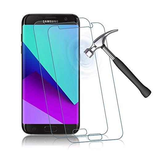 Agedate 2 Stück Panzerglas Schutzfolie für Samsung Galaxy S7, 9H Härte, Anti-Kratzen, Anti-Bläschen Displayschutzfolie, HD Klar Panzerglasfolie Kompatibel mit Galaxy S7 (Transparent)