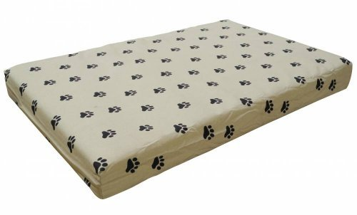 Go Pet Club PP-36 Memory Foam Orthopedic Dog Bed, 34 by 22 by 3-Inch, Tan by Go Pet Club