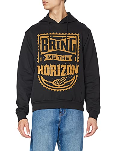 Bring Me The Horizon Dynamite Sudadera, Negro, XL para Hombre