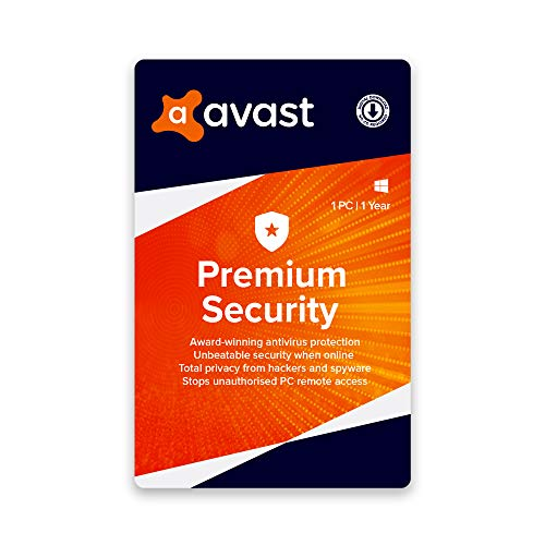 Avast Premium Security (Total Security) (1 PC | 1 Year) (Email Delivery in 2 hours- No CD)
