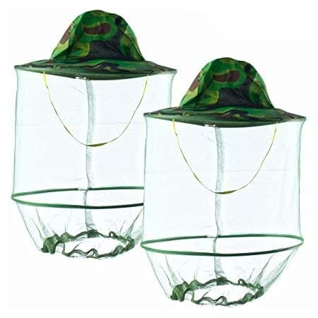 Details about  / Outdoor Beekeeper Anti Mosquito Insert Fishing Hat Beekeeping Face Protection
