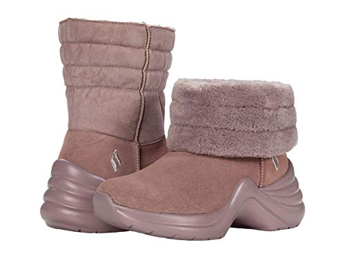 Skechers Women's Pull on Bootie Fashion Boot, Mauve, 7