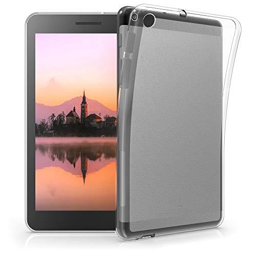 kwmobile Hülle kompatibel mit Huawei MediaPad T1 7.0 - Silikon Tablet Cover Hülle Schutzhülle Transparent