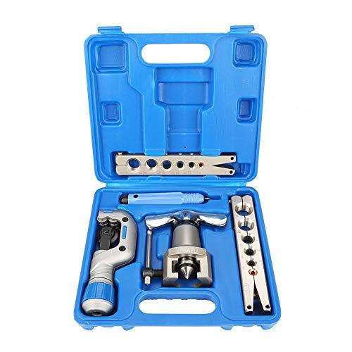 Taidda- Kupferrohr-Expander, 5-in-1-Kit zum manuellen Bördeln von Rohren Kupferrohr-Expander für die Reparatur von Kühlschränken
