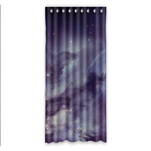 Doubee DUSCHVORHANG Mysteriöse Galaxy Vorhang Anti-Schimmel Anti-Bakteriell,127cm x 274cm (1 Stück)