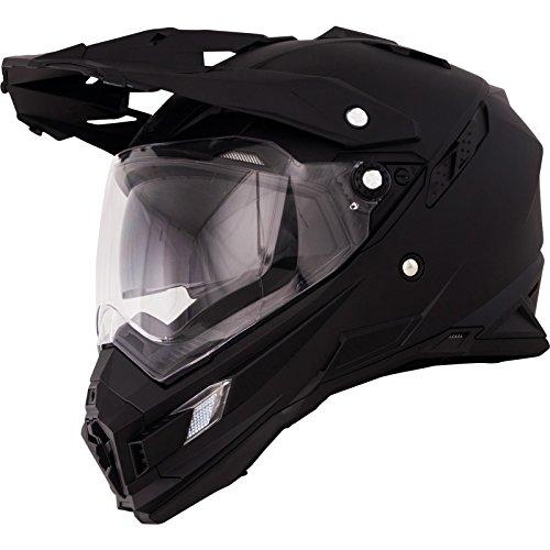 O'Neal Sierra Adventure Enduro Helm matt schwarz aerodynamischer Motorradhelm mit Sonnenblende, 0815-40, Größe X-Small (53 – 54cm) - 3