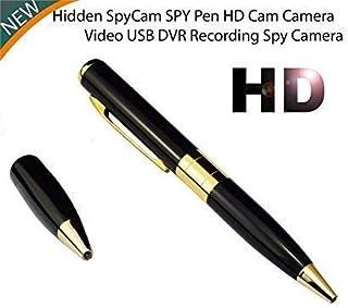 Garima electronics Spy Pen Camera DVR HD 720P Video Recorder Spy Hidden Camera Pen Dvr Business Portable Recorder Silver&Gold