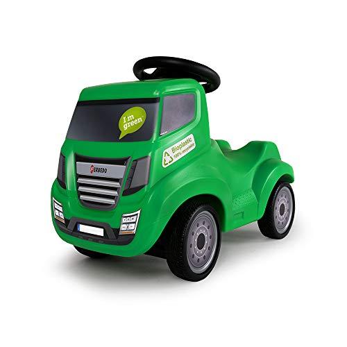 FERBEDO 054054 Bio-Truck, grün-Mein erstes Auto, schadstofffrei Rutscher