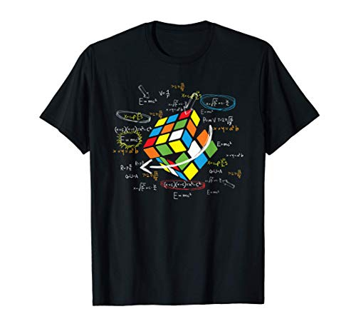 Cool Math Rubik Rubix Rubics Player Cube Math Lovers T-Shirt