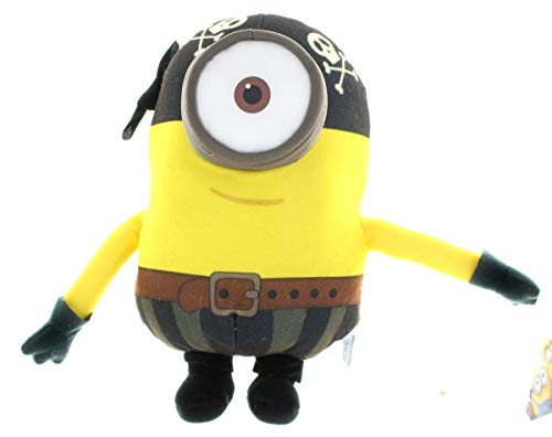 Toynk Minions Movie Despicable Me 10' Plush Pirate, Kevin