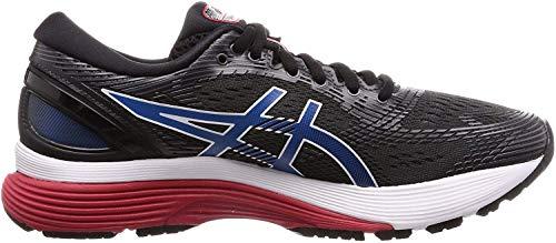 Asics Gel-Nimbus 21, Zapatillas de Running para Hombre, Negro (Black/Electric Blue 005), 47 EU
