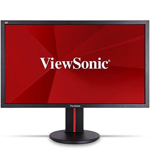 ViewSonic VG2401MH-2 61 cm (24 Zoll) Full HD 144Hz LED-Gaming-Monitor (HDMI/DVI/DisplayPort, 1ms Reaktionszeit, Lautsprecher) Schwarz
