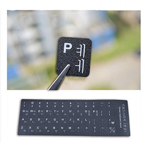 Koreaanse Toetsenbord Stickers Toetsenbord Membraan Laptops Universele Wortel Tafel Letter Stickers