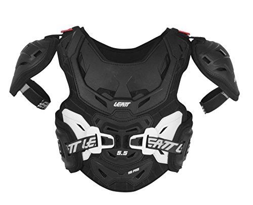 Leatt 5.5 PRO HD - Pettorina rigida per ciclisti junior, Black/White