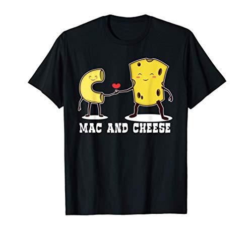 Mac & Cheese | Funny Love Food Cute Veggie Gift T-Shirt