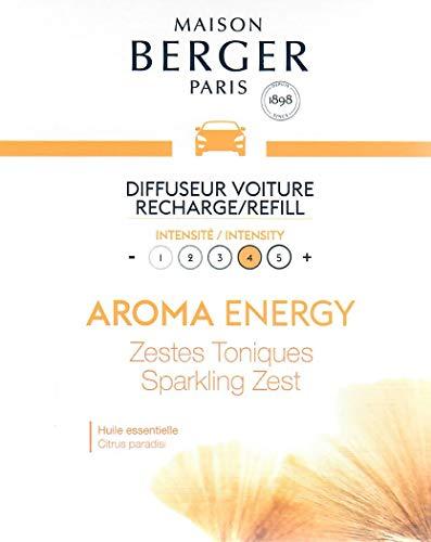 MAISON BERGER Set van 2 Aroma Energy Sparkling Zest keramische vullingen