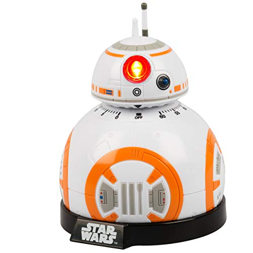 Funko SW02722 Star wars Epvii: SW02722 Kitchen Timer: Bb-8 (Light And Sound), Orange/white