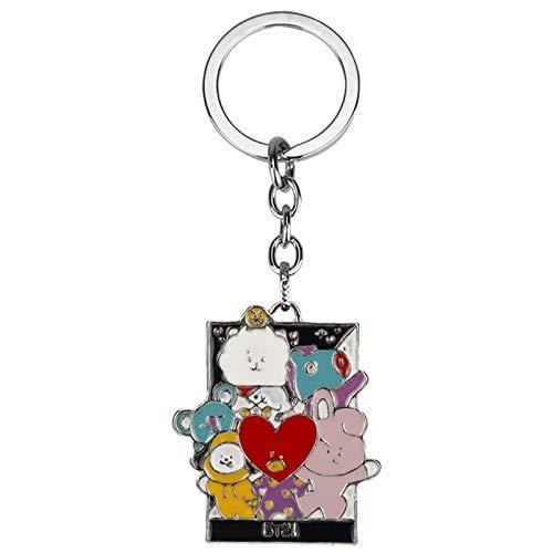 IHZ Youth Tiantuan, popular idol Tiantuan necklace, key chain, drip alloy pendant(Color:Keychain)