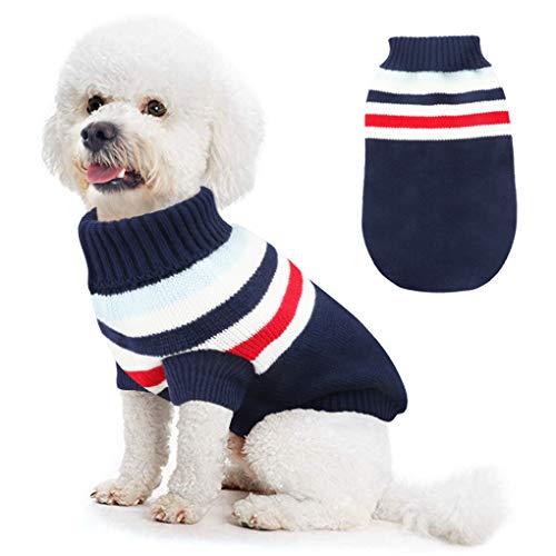 Idepet Disfraz Gato, Trajes para Perros para Gatos Pequeños y Medianos Disfraz para Invierno Navidad