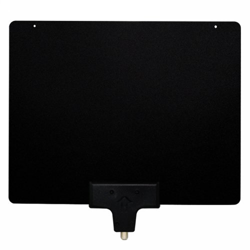 Mediasonic - Antena de TV HD 1080P 4K UHF/VHF – 50 Millas de Alto Rendimiento para Interiores (HW-210AN-V2)