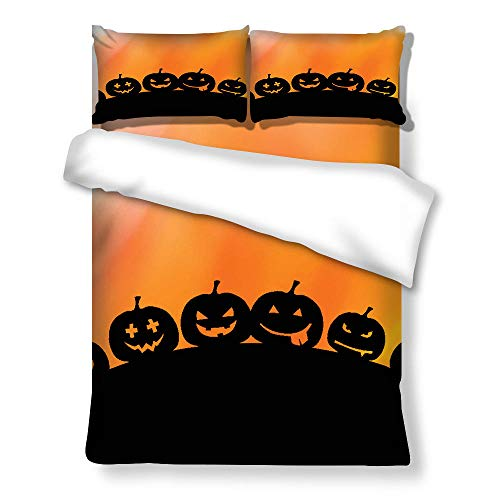 geek cook Duvet cover double,Three-piece four-piece bedding set for Halloween-A082_GB-King230cm×220cm