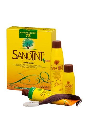 "SANOTINT® Haarfarbe Sensitive ""light"" Nr. 78 ""Mahagoni Dunkel"" (125 ml)"