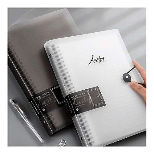 BENO Cuaderno clásico 2-Pack Classic Gobernado del Cuaderno Y Cuadrícula Notebook, Colegio Dictaminó, El Cuaderno A4, B5 Notebook, For Office Business School (60 Hojas / 120 Páginas)