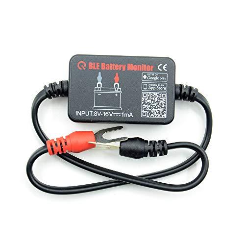 Quicklynks Monitor de batería BM2 Bluetooth 4.0 dispositivo coche 12 V probador de batería Herramienta de diagnóstico para Android iOS iPhone Digital Analizador de batería Unidades de medición
