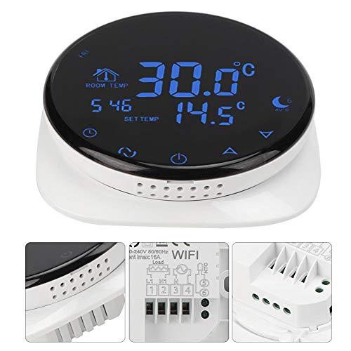Walfront Home Wi-Fi HY316WE Termostato Programable Termostato De CalefaccióN EléCtrico Programable Controlador...