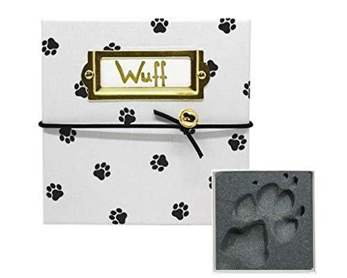 MY MAGIC FOOTPRINT Bezauberndes Hund Pfotenabdruck Set, Pet Imprint, Personalisierbares Geschenk, Liebevolles Geschenk, Einfache und Saubere Anwendung