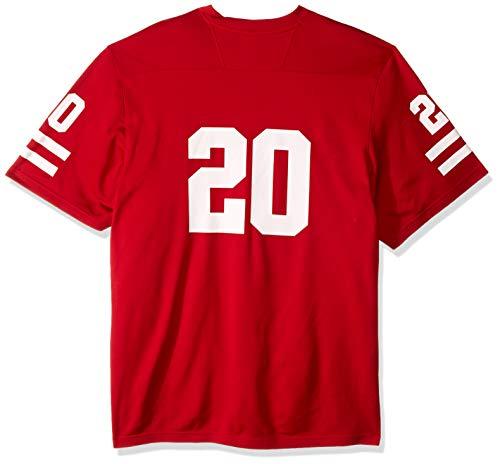 adidas NCAA Nebraska Cornhuskers Herren NCAA Replica Jersey, rot #20, Größe L
