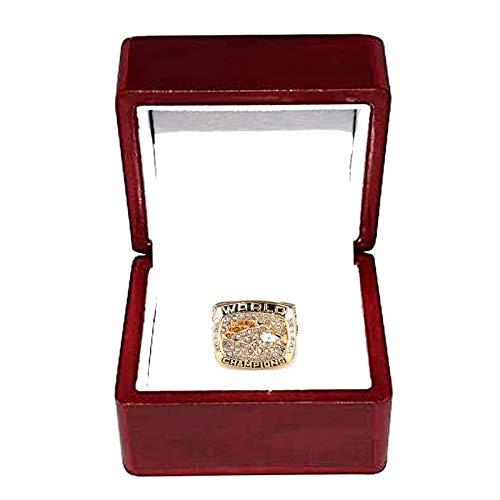 HZIH CopyChampionship Ring Denver Broncos (John Elway) 1997 Super Bowl Xxxii Champions Rings Replica,With Box,12