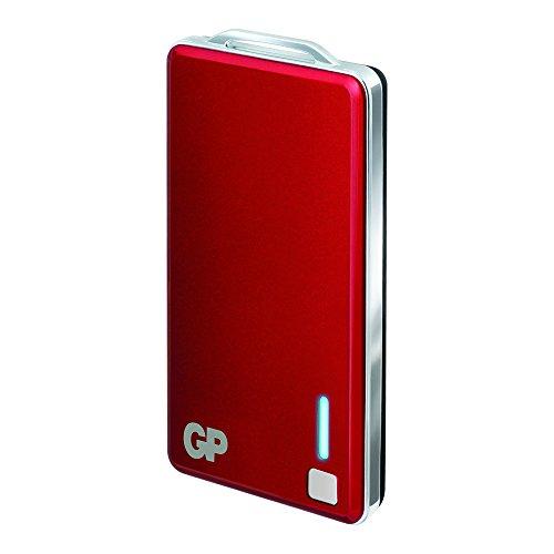 GP Batteries PowerBank XPB28 Chargeur pour Batterie 3,7 V/2500 mAh Rouge