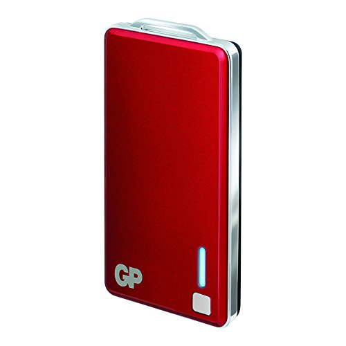 GP Batteries PowerBank XPB28 Chargeur pour Batterie 3,7 V/2500 mAh Rouge
