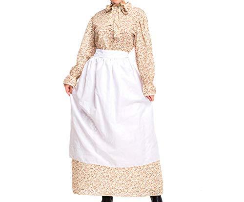 Mitef Disfraz De Abuela Lobo Vestido Idílica Sirvienta De Granja, XL